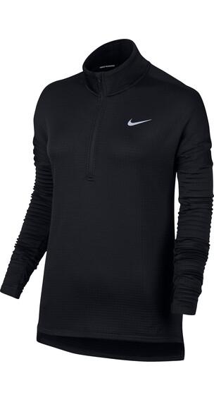 Nike Therma Sphere Element Hardloopshirt lange mouwen Dames zwart